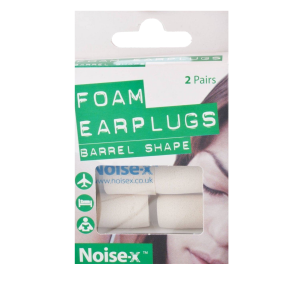 noise-x-foam-barrel-earplugs