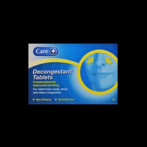 care-decongestant-tablets
