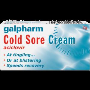 Galpharm Cold Sore Cream - 2g